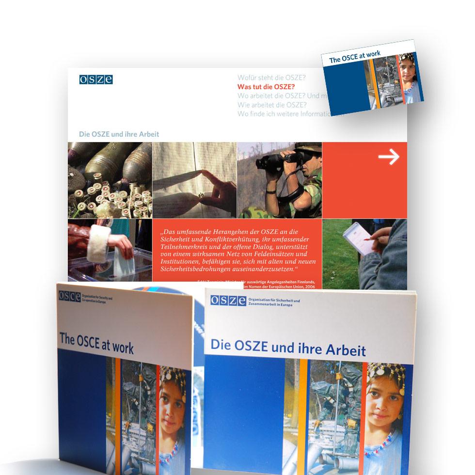 Die OSZE und ihre Arbeit